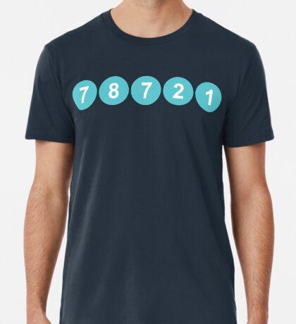 78721 Austin Zip Code Premium T-Shirt