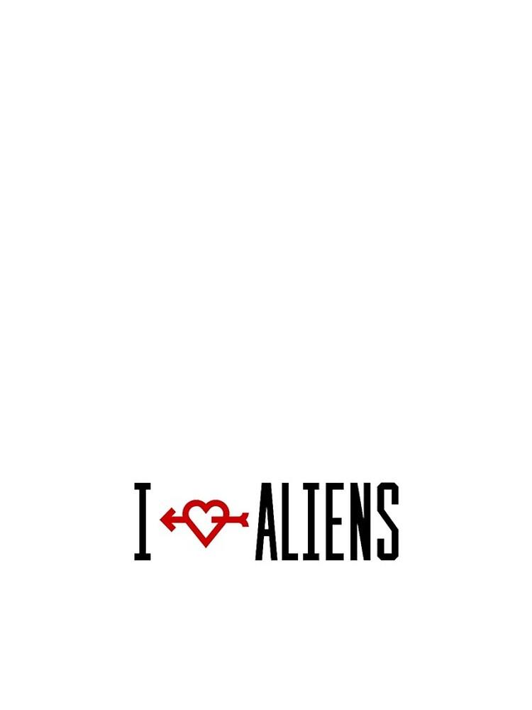 I LOVE ALIENS von ironback