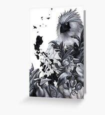 Philippine Birds Greeting Card