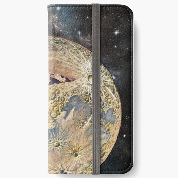 Deep In The Earth My Love Is Lying And I Must Weep Alone iPhone Wallet