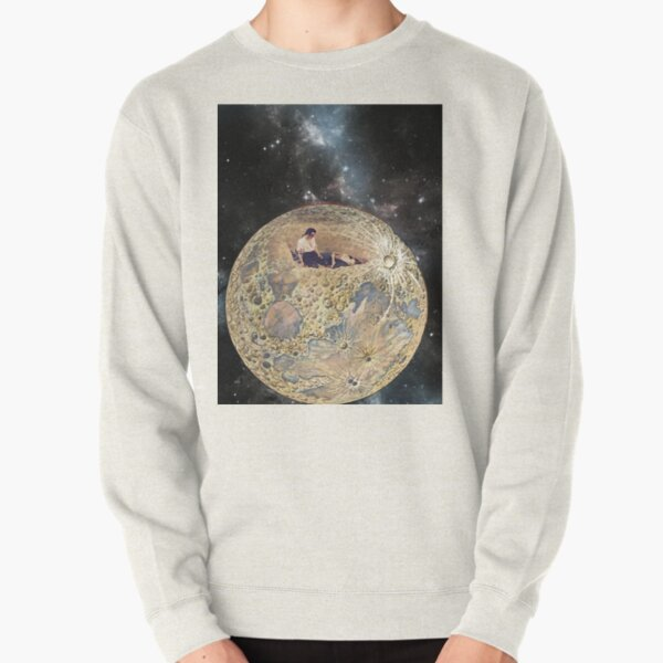 Deep In The Earth My Love Is Lying And I Must Weep Alone Pullover Sweatshirt