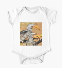 Yellow-billed Horn-bill - Beaks of Color and Life One Piece - Short Sleeve