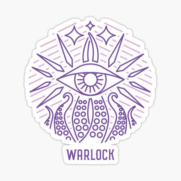 Warlock Sticker