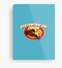 earthworm jim origin Metal Print