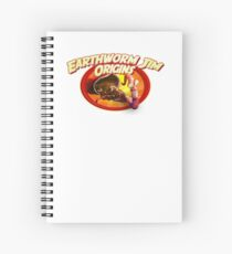 earthworm jim origin Spiral Notebook