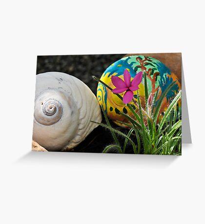 Moon Shells Greeting Card