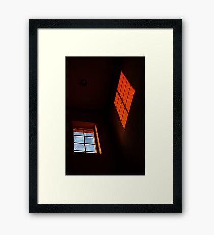 Window Light Framed Print
