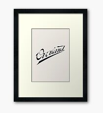 Classic Cars: Overland Automobile Framed Print