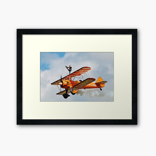 Breitling Wing Walkers Framed Art Print
