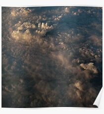 Late Evening Clouds Poster