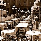 City Life - Place for cappuccino by Denis Molodkin