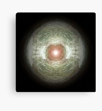 Remote - a digital abstract Canvas Print