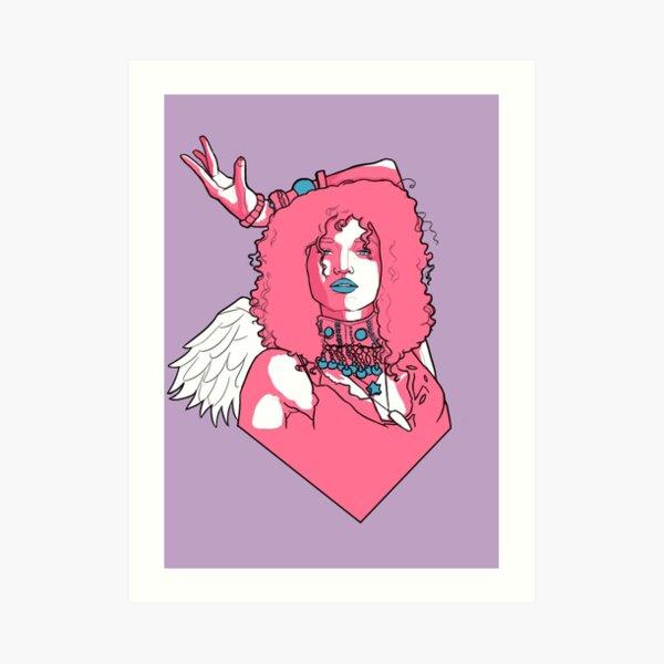 Angel - Pose Art Print