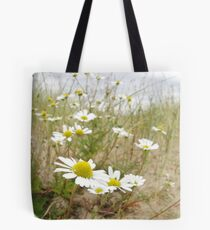 White n Yellow Lisfannon beach County Donegal Ireland Tote Bag