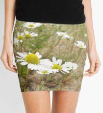 White n Yellow Lisfannon beach County Donegal Ireland Mini Skirt