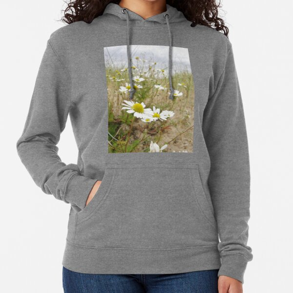 White n Yellow Lisfannon beach County Donegal Ireland Lightweight Hoodie
