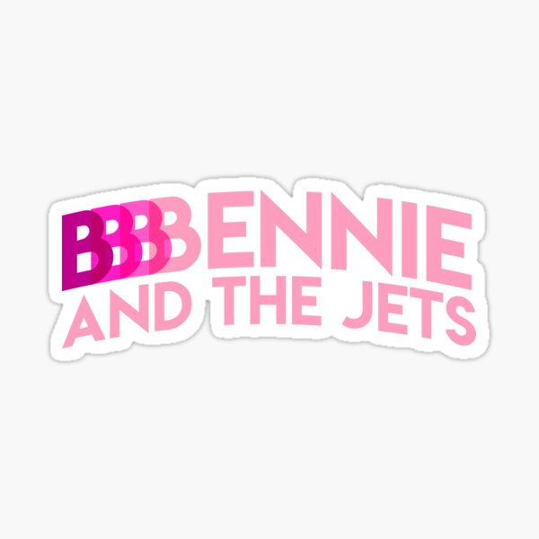 B-B-B Bennie (light pink) Sticker
