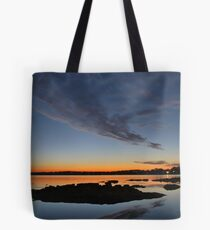 Sunset over Kanwal. Tote Bag