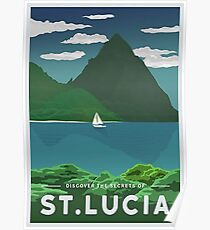 St. Lucia - Poster