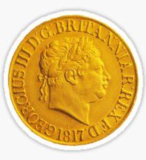 Gold Coin Sticker