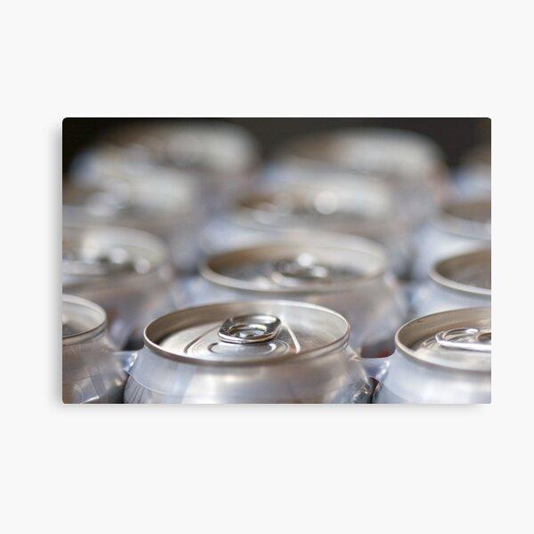 Soda Cans Metal Print