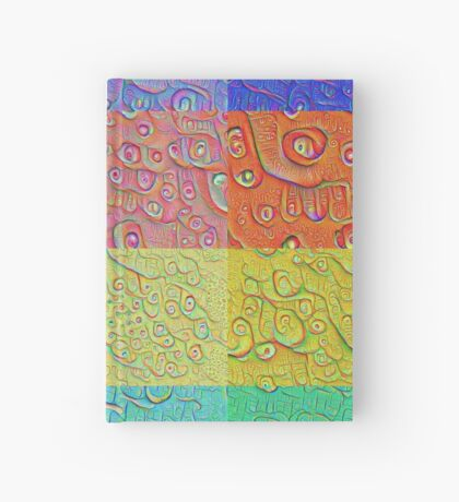Deep Dreaming of a Color World Hardcover Journal