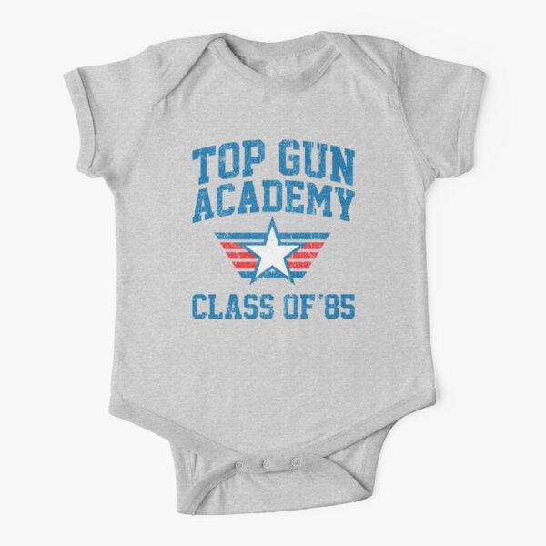 TOP GUN Academy Class of 85 Short Sleeve Baby One-Piece