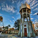 Tel Aviv, The Old Water Tower by Ronsho