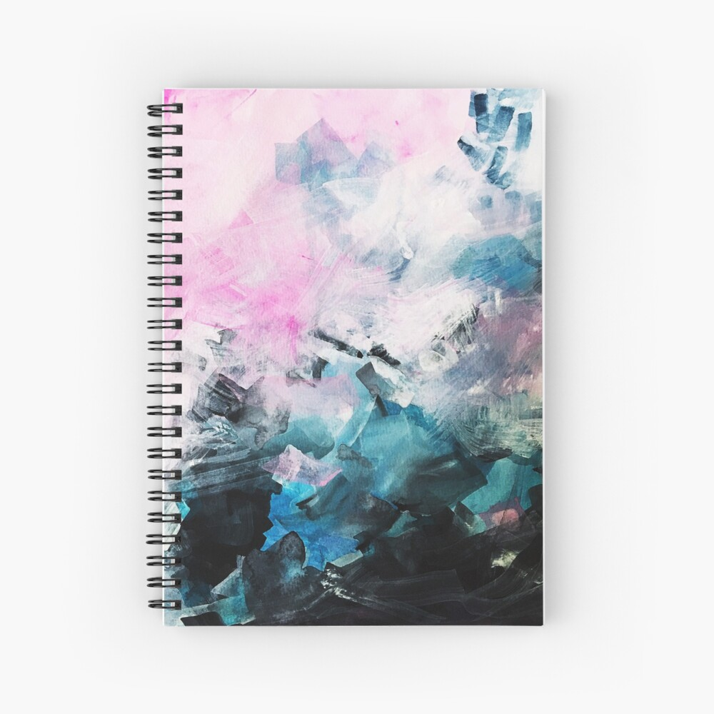 Mood Swing Spiral Notebook