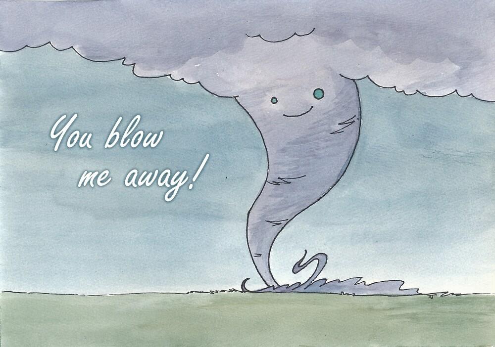 Tornado valentine by Toni Johnson
