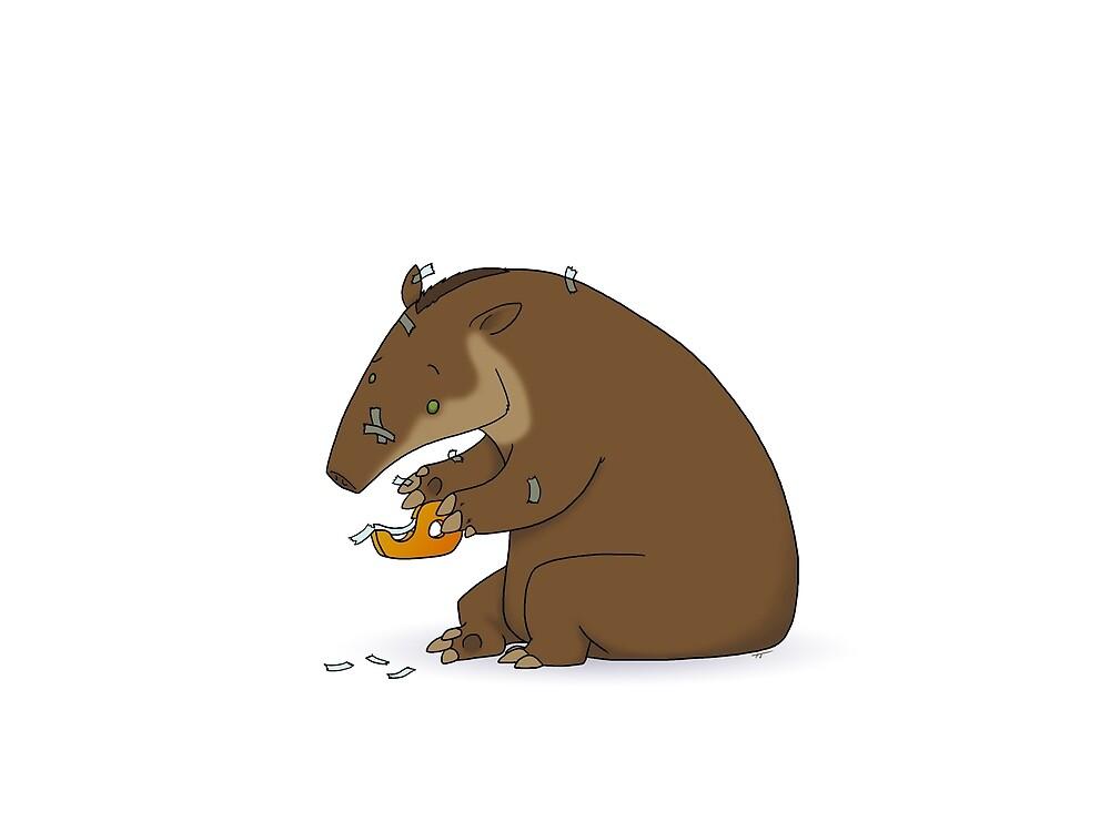 Tapir taper by Toni Johnson