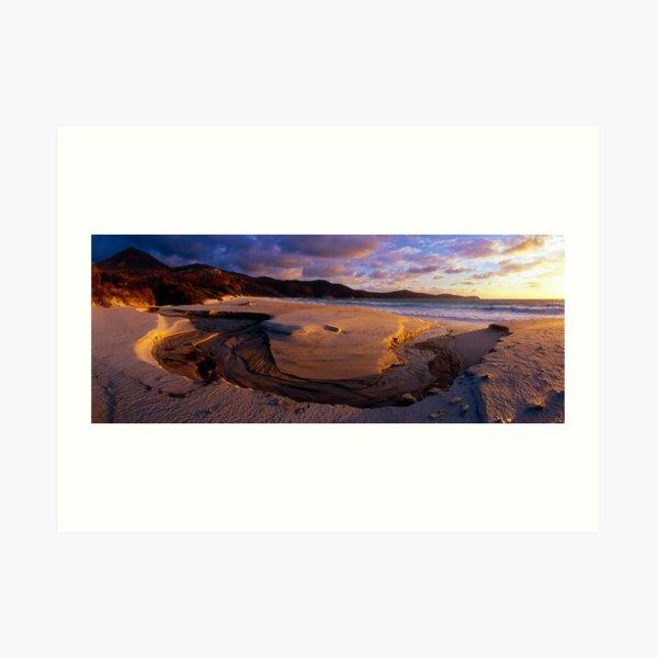 Waterloo Bay (drum scan) Kunstdruck