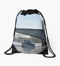 Cruising Home Drawstring Bag