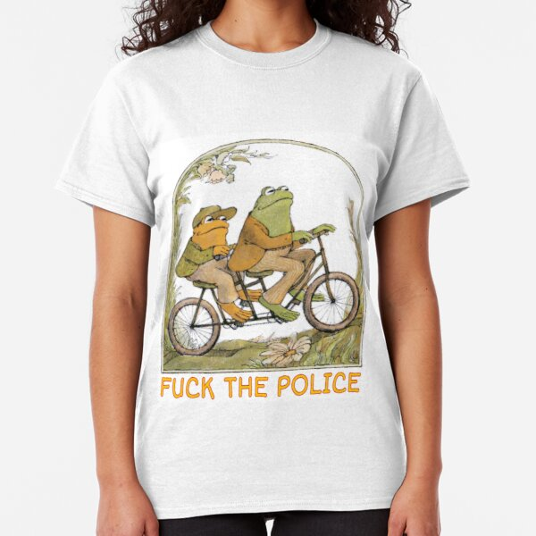 Frog and Toad - F*ck the Police (Proceeds Donated to National Bail Fund)  Classic T-Shirt