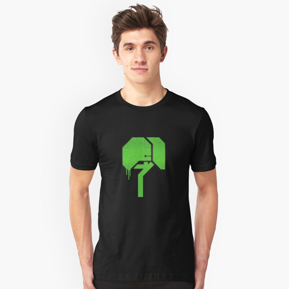 Techno Tree (LBP) Slim Fit T-Shirt