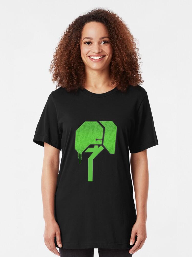 Alternate view of Techno Tree (LBP) Slim Fit T-Shirt