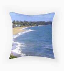 Sandringham Beach -  Victoria - Australia Throw Pillow