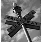 Rail Crossing Way by Gozza