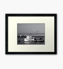 The Fishing Vessel San Giovanni Framed Print