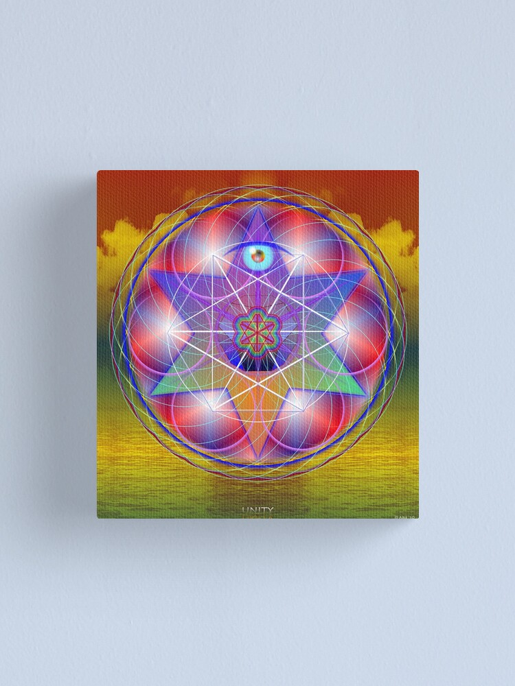 Alternate view of Unity Canvas Print