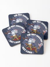 Zeelis' Words to Live By Coasters
