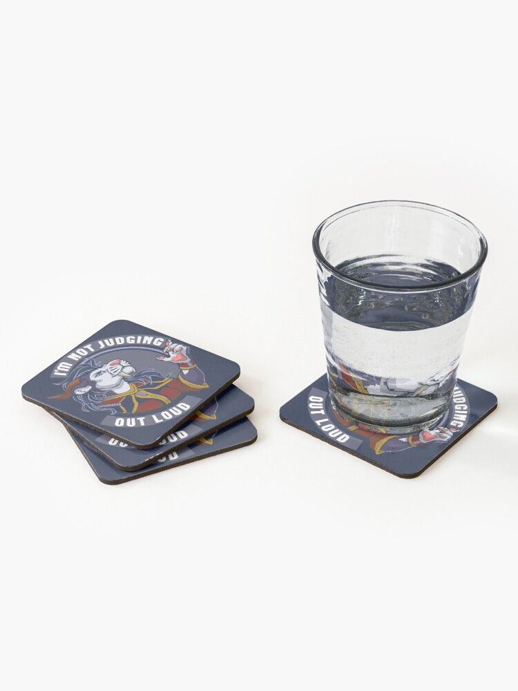 Alternate view of Zeelis' Words to Live By Coasters (Set of 4)