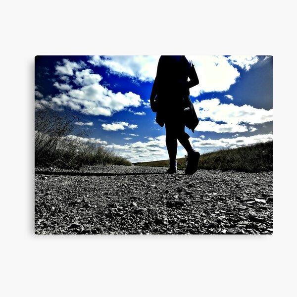 Trail Walk Canvas Print