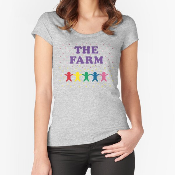 The Farm Fitted Scoop T-Shirt