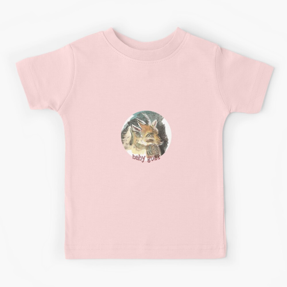 Baby Goat is a kid sketch Kids T-Shirt
