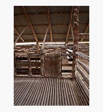 Mungo Shearing Shed Photographic Print