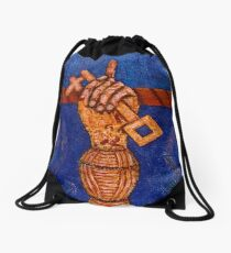 The key Drawstring Bag