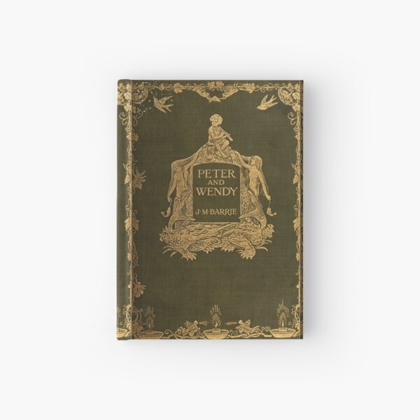 Peter and Wendy classic book cover Hardcover Journal