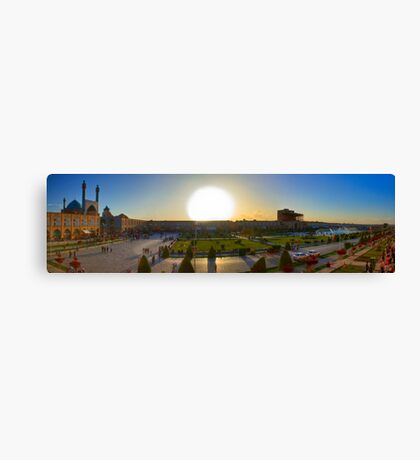 Imam Square HDR Panorama - Esfahan - Iran Canvas Print