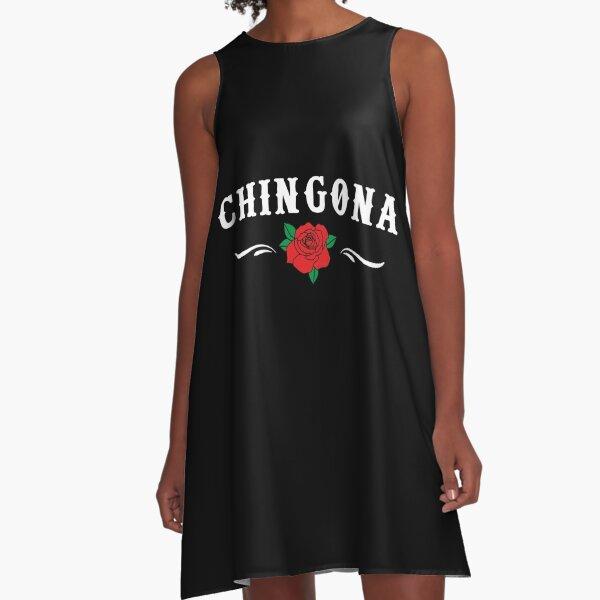 Womens Chingona design   Badass designs for women A-Line Dress